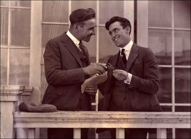 Frank Lloyd and Harold Lloyd