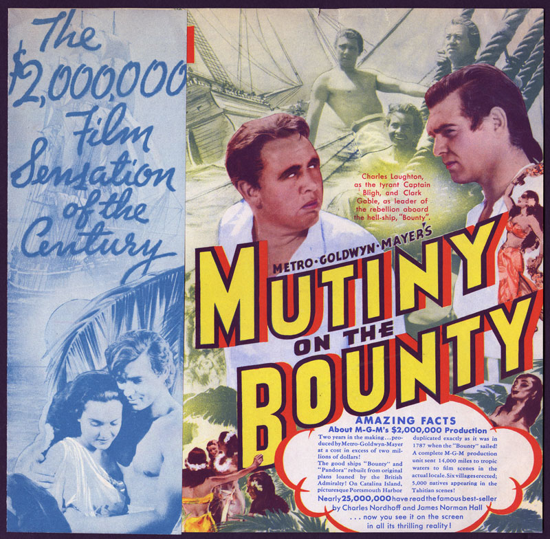 Mutiny on the Bounty Poster