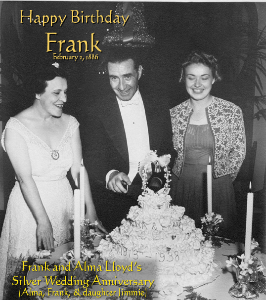 HAPPY BIRTHDAY FRANK LLOYD