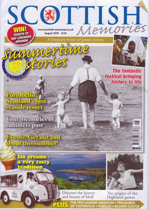 Scottish Memorie Cover